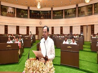 Oath taking ceremony in Telangana Assembly