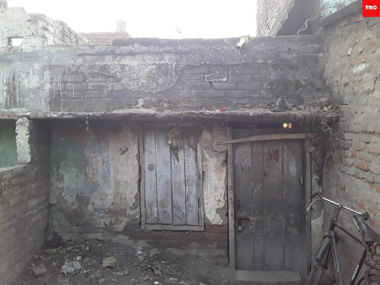 A house built for slum dwellers in Lalu Prasad regime