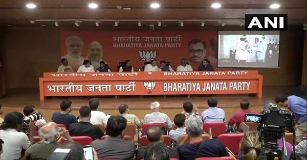 """Phir Ek Baar, Modi Sarkar"""": BJP unveils slogan for 2019"""
